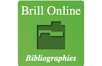Product image for BrillOnline Bibliographies